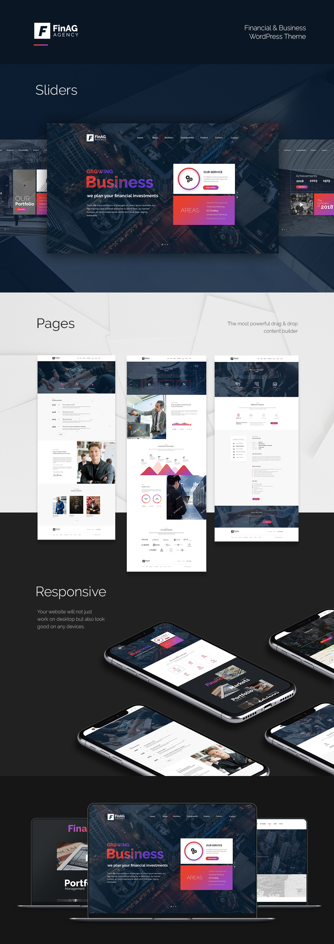 FinAg WordPress Theme