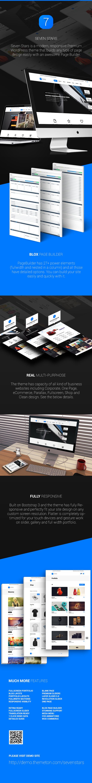 WordPress theme Seven Stars - Modern Responsive MultiPurpose Theme (Business)