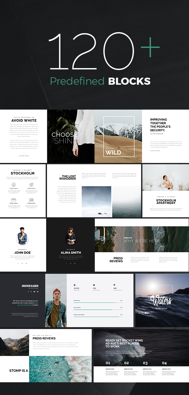Simplux – Creative Portfolio and Blog WordPress Theme (Creative)