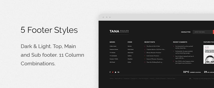 Tana Magazine Promo